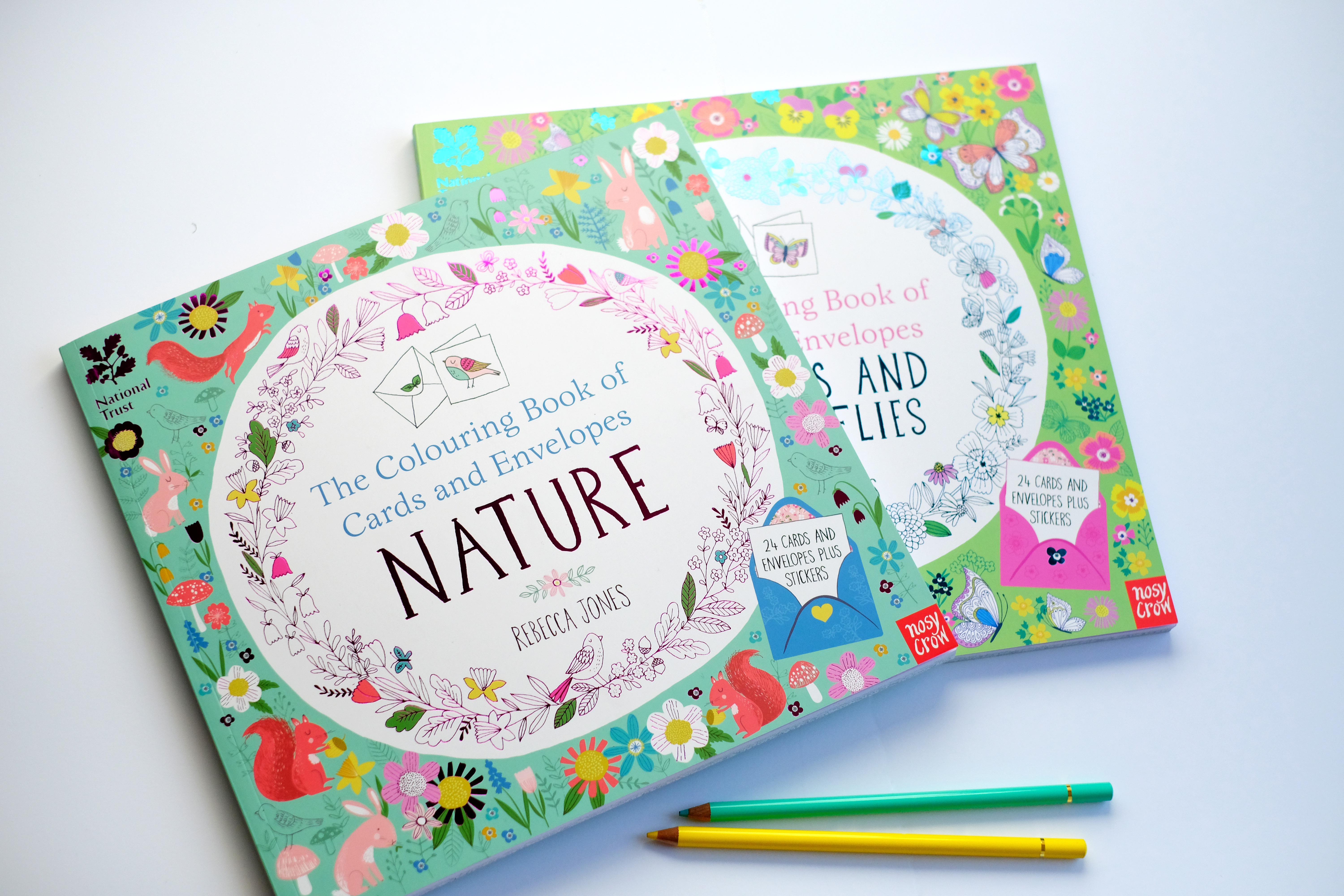 Colouring Books For The National Trust